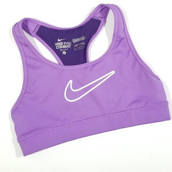 Nike Other - Nike Pro Combat Dri Fit Sports Bra